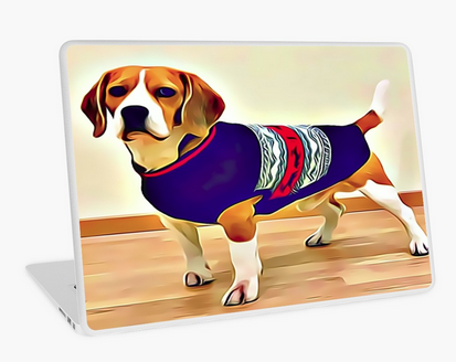 Premium High quality #LaptopSkins - Well Dressed #Beagle #Art for your Macbook Air, Macbook Pro, Macbook Pro Retina, and PC laptops. These 1 mm thick skins/stickers give personality to your device while also providing scratch resistance https://t.co/zPQ1jucfkz https://t.co/sF4KnUFdSX