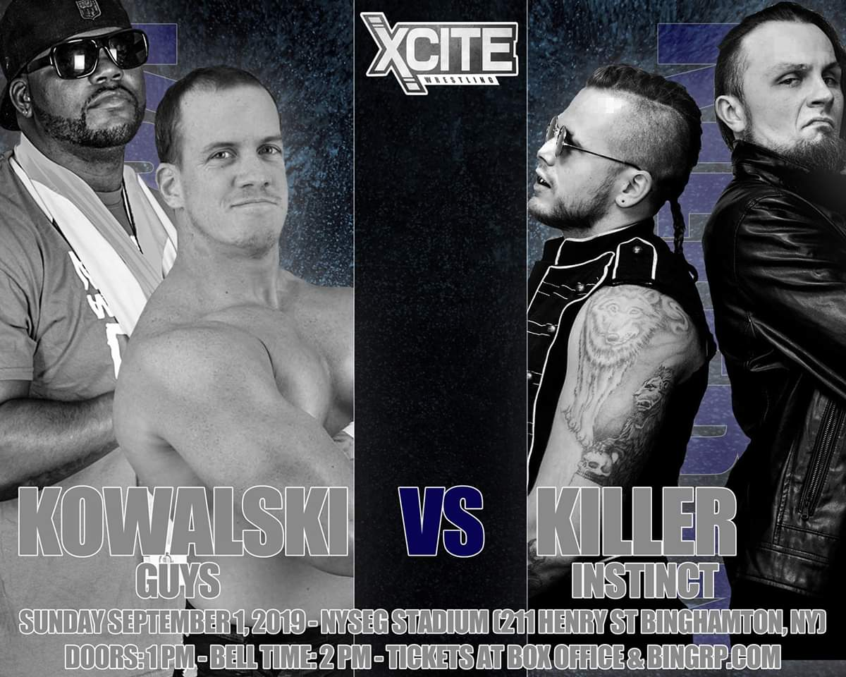This Sunday @XciteWrestling , come watch me treat @jay_freddie like James Dolan treats the @nyknicks . https://t.co/HN0nTfxj3t