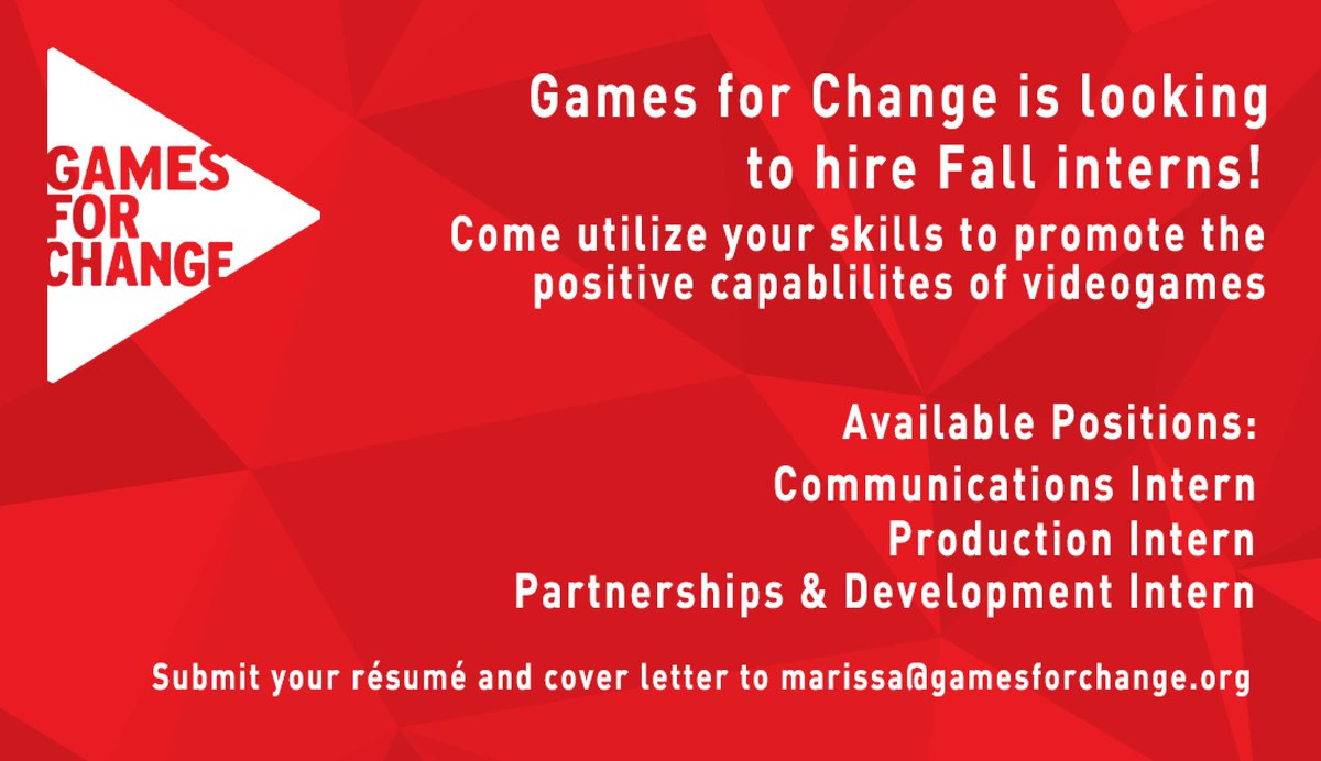 Games for Change (@G4C) | Twitter