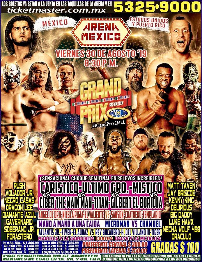 Una mirada semanal al CMLL (del 22 al 28 de agosto de 2019) 7