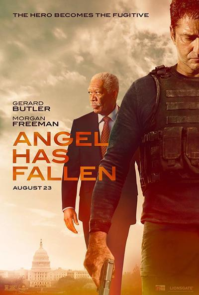 "If you love playing shooting video games, you'll probably like #AngelHasFallen .  If you love this ""Fallen"" #movie #franchise, you might be disappointed.  I know I was. You can read my full movie review at https://t.co/IQKcE7RtgP https://t.co/ddkVUFkqLe"