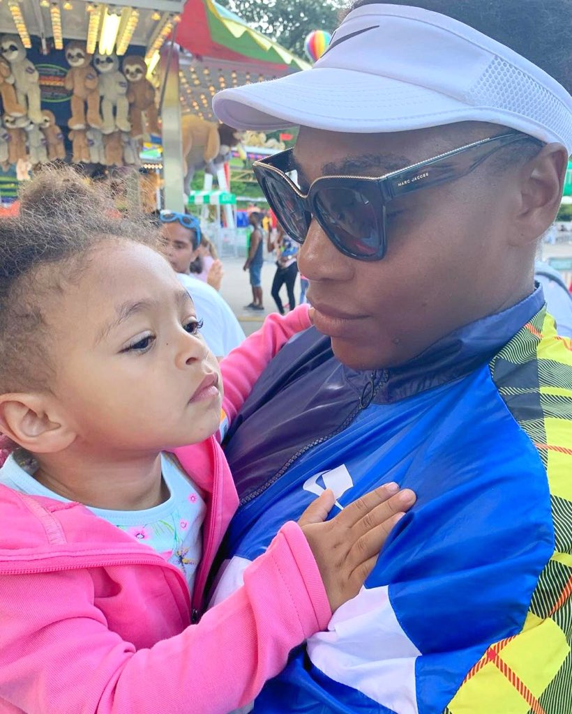 #ThisMama tries to spend as much time with @OlympiaOhanian as possible. She keeps me going especially during tournaments. Although the popcorn machine has her attention here, I know shes watching and learning to see how I persevere. #ThisMama keeps going, how do you?
