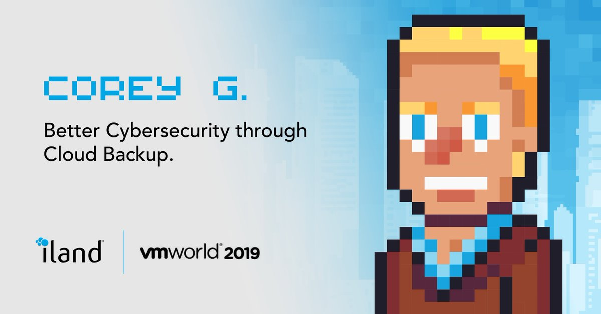 How can you protect your data against ransomware with iland BaaS solutions for Veeam and Office 365? Come find out. #VMworld #VMworld2019 #LevelUp #L3v3lUp #levelUPiland https://t.co/PJ9PwyPTqu
