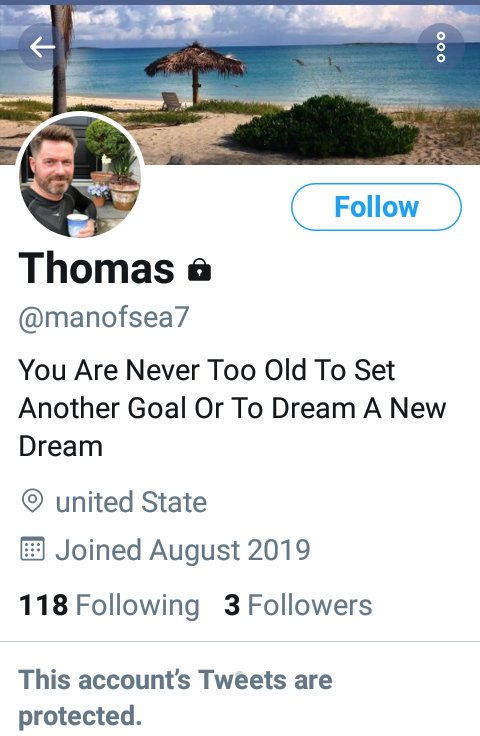 Yet another #fake profile using Captain Thomas Lindegaard