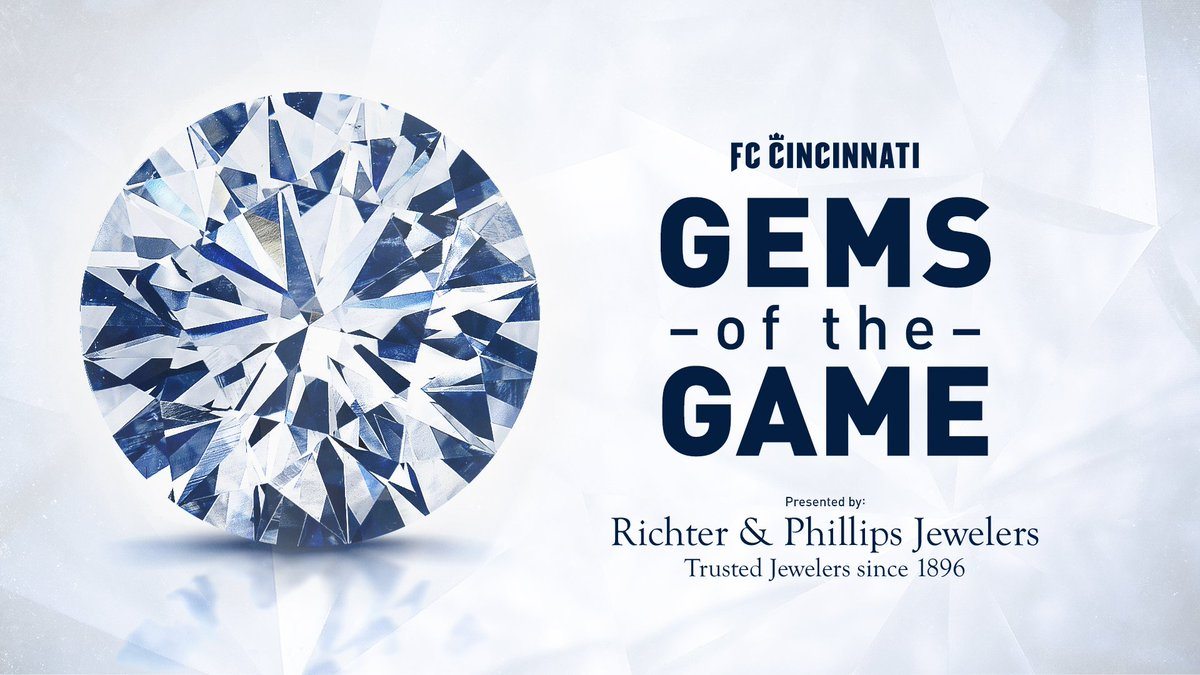 Vote for your @richterphillips Gem of the Game from #CINvCLB & enter for your chance to win a $1,000 gift card!   https:// fccincy.com/Gems     <br>http://pic.twitter.com/R5b3thrNw2