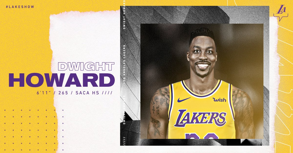 RT @Lakers: OFFICIAL: Lakers sign Dwight Howard  https://t.co/HV20wG4pWr https://t.co/SY2RJu6aqC