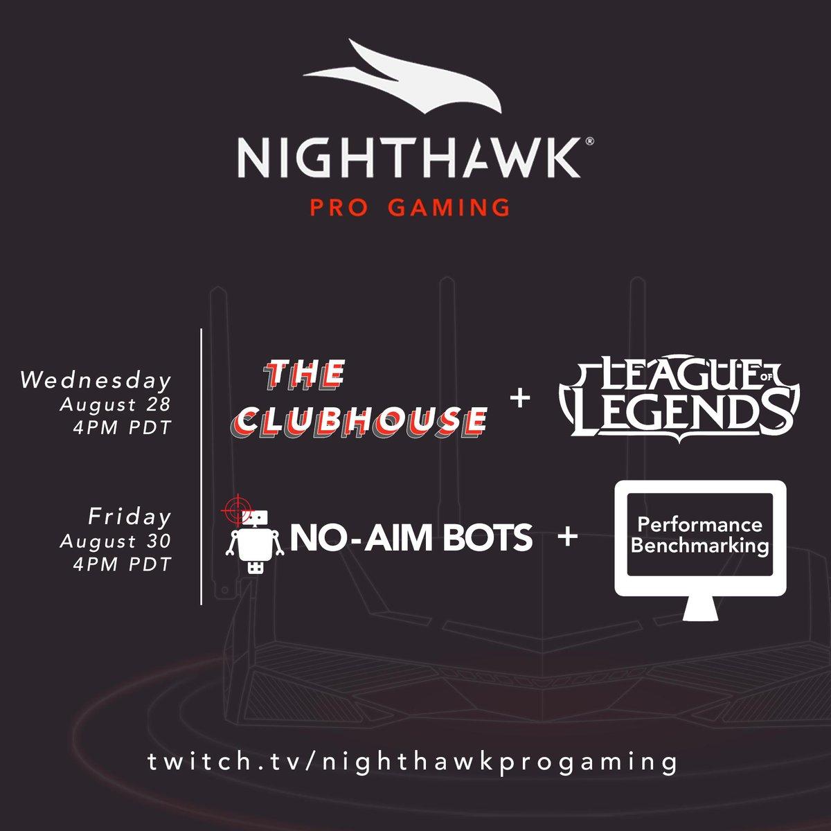 Nighthawk Pro Gaming (@NETGEARgaming) | Twitter