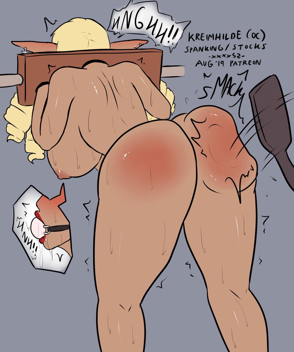 Hentai spanking Spanking Porn
