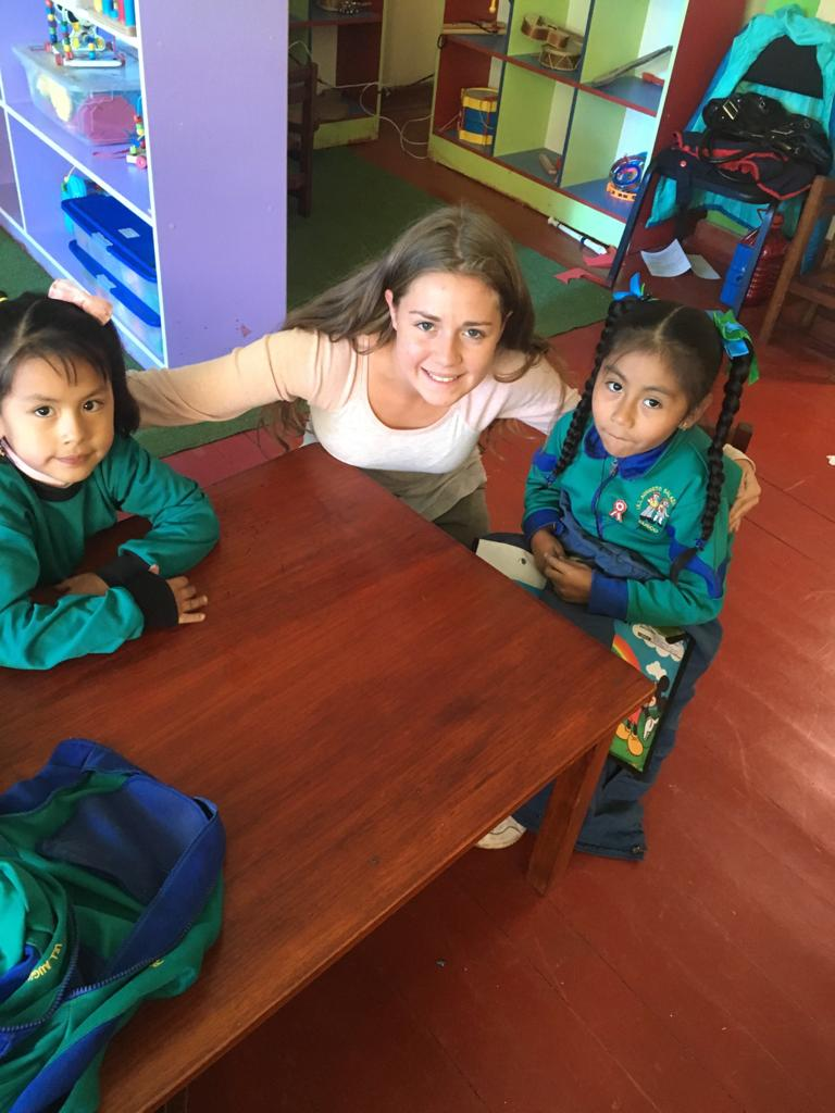Volunteer in Peru Cusco Review Mary Jones Childcare programs and orphanage. https://www.abroaderview.org/volunteers/peru