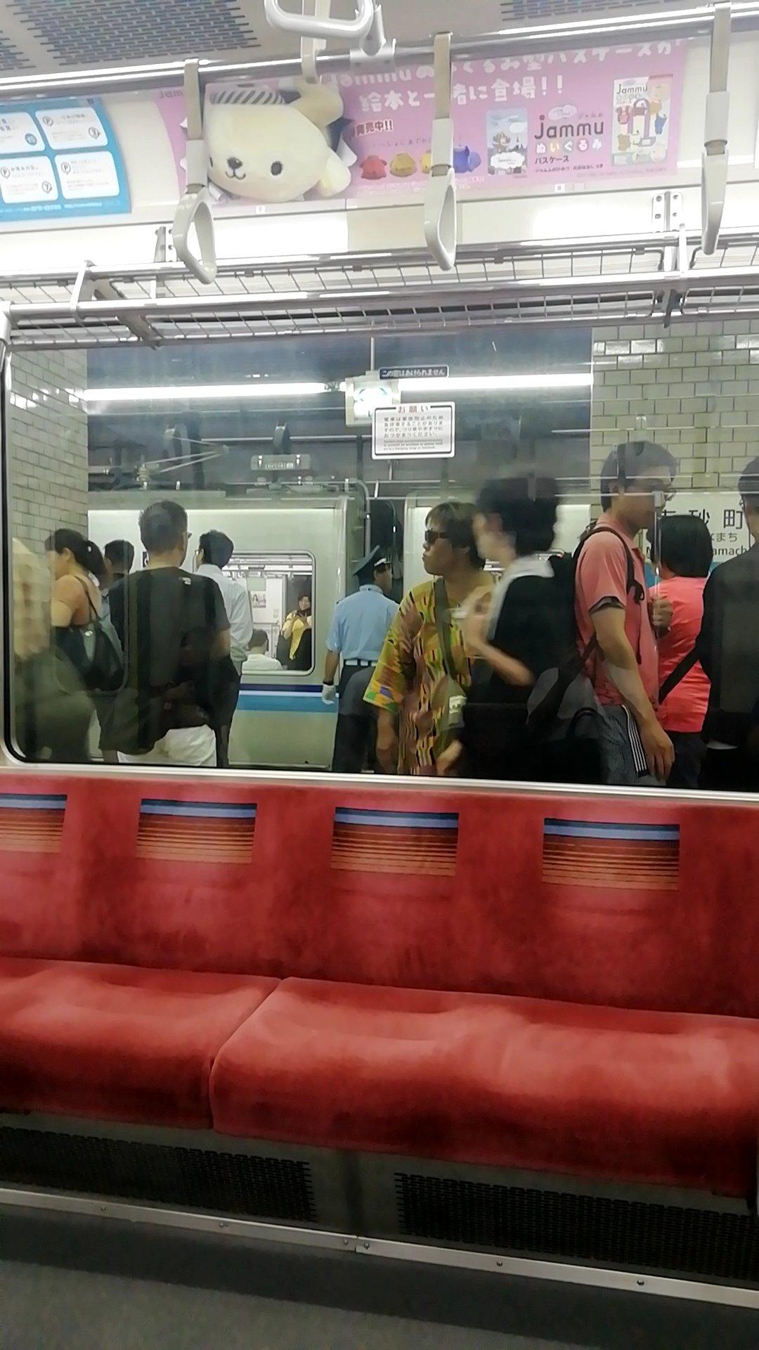 東西線の南砂町駅で人身事故が起きた現場の画像