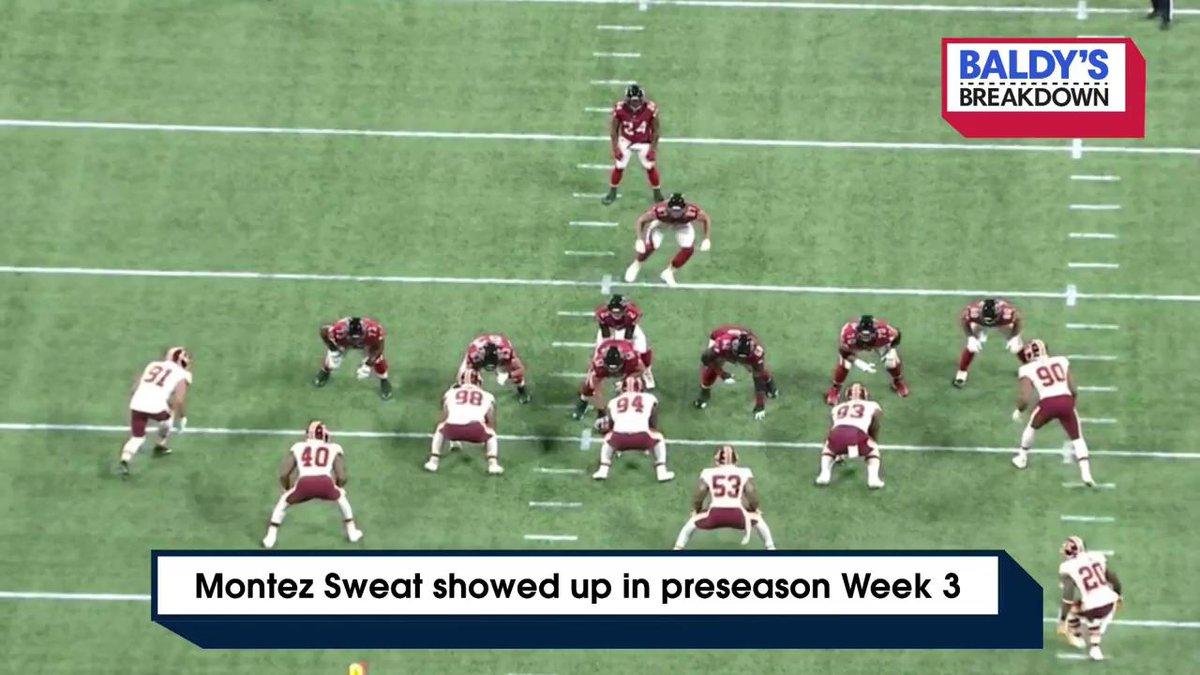 Redskins rookie LB Montez Sweat is looking good!   https://t.co/AuVx0WAtKl