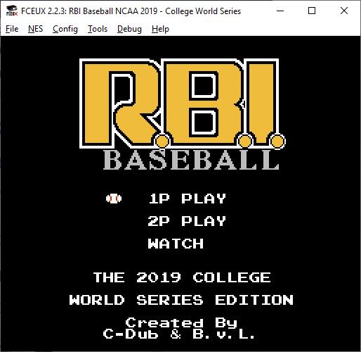 Who likes College Baseball? #NES #RetroGaming #VideoGames #VideogamesAreNotToBlame #CollegeWorldSeries #Vanderbilt #Michigan #RBIBaseball https://t.co/En1UtDq9u4