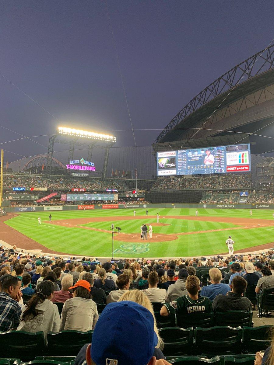 T-Mobile Park tonight. Mariners /Yankees @espn https://t.co/NXhv57VWjn