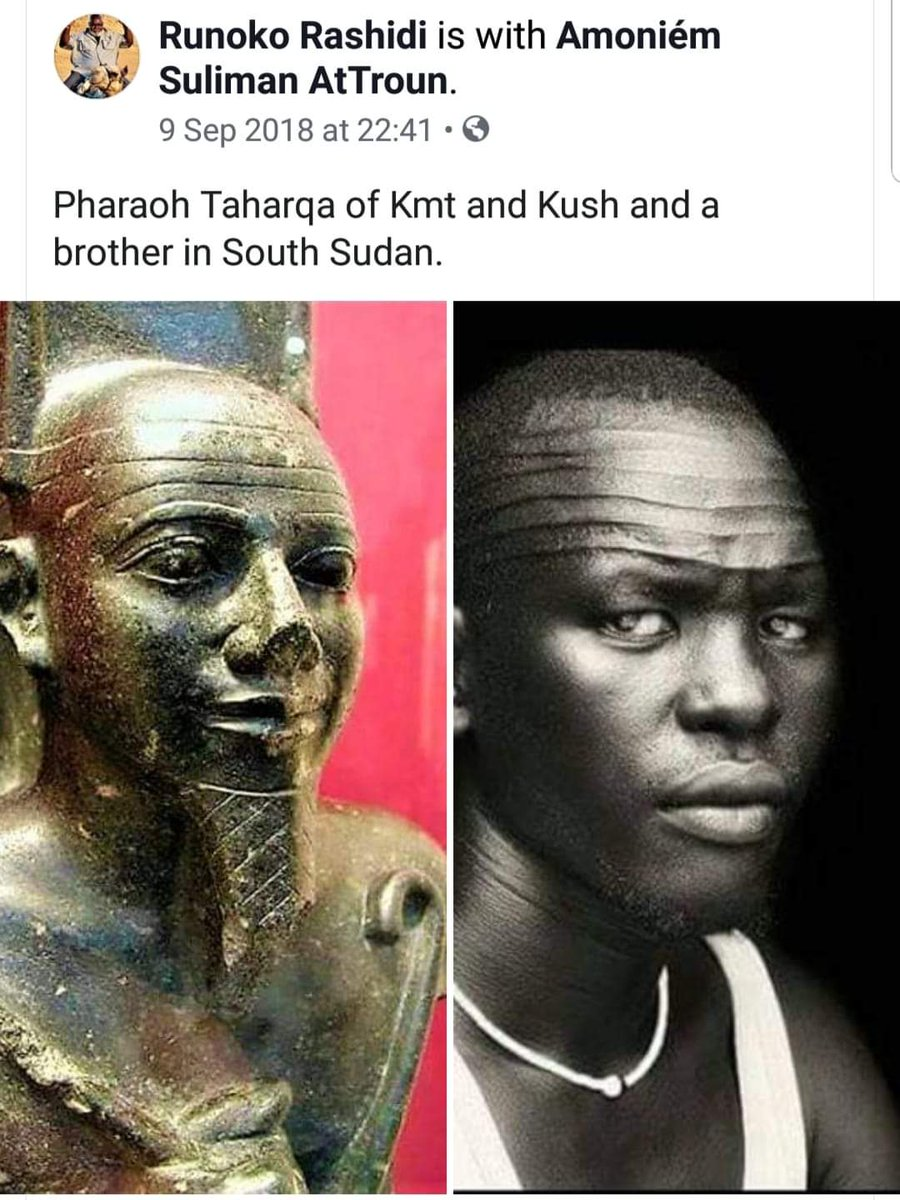 It looks Turks and Egyptians played great role in the initiations of forehead marking among Nuers and Dinkas in South Sudan https://t.co/Iv2oepYzPa