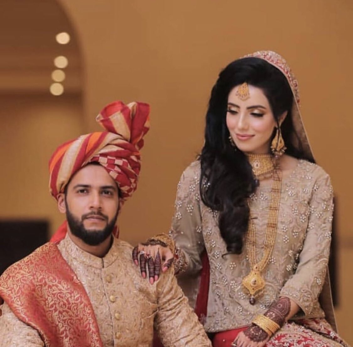 Congratulations on the beginning of the new chapter of your life. May ALLAH bless both of you with happiness and love @simadwasim
