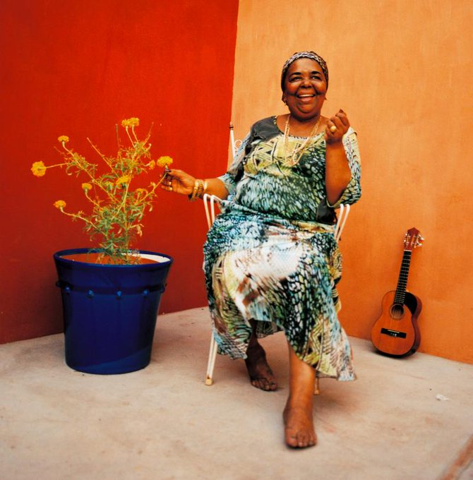 Happy Birthday to the Queen that was Cesária Évora. So much sodade . 87 today