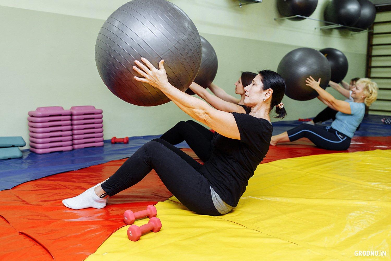 Фитнес клуб помогают похудеть