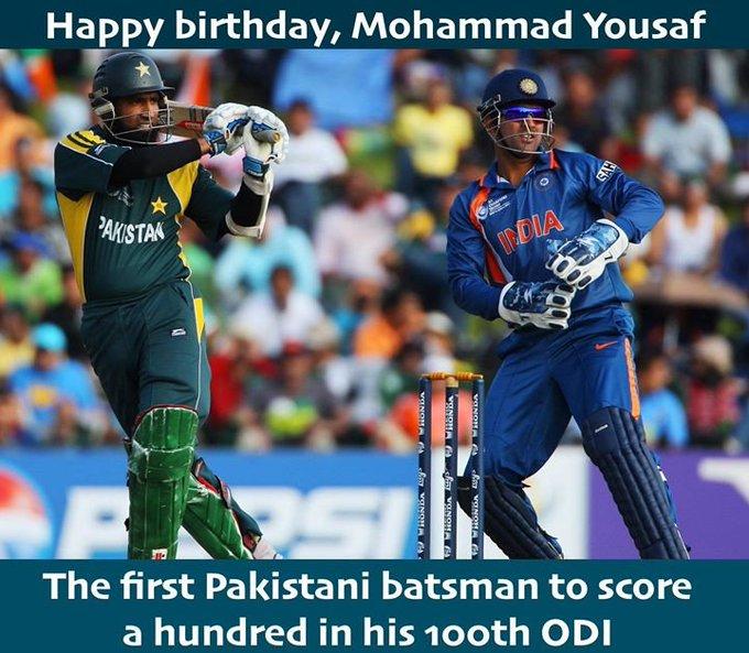 Happy Birthday, Mohammad Yousuf