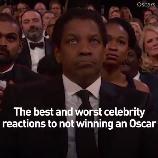 Some celebs handle losing with such grace... others, not so much...