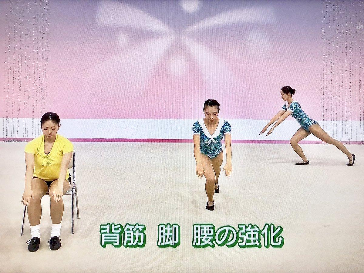 体操 時間 テレビ