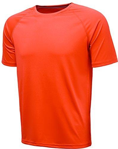 Herren T-Shirt Laufshirt Funktionsshirt Sport T-SHIRT Fitness Kurzarm Shirt Top