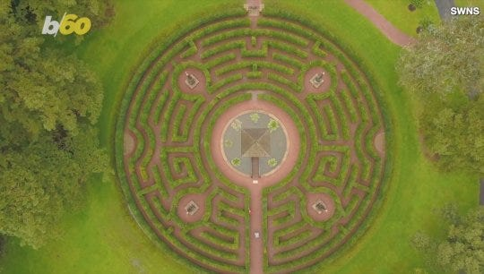 Prince Charles commissioned this cool labyrinth https://t.co/YhmtPWJAc8 https://t.co/gCQGjx1Tcb