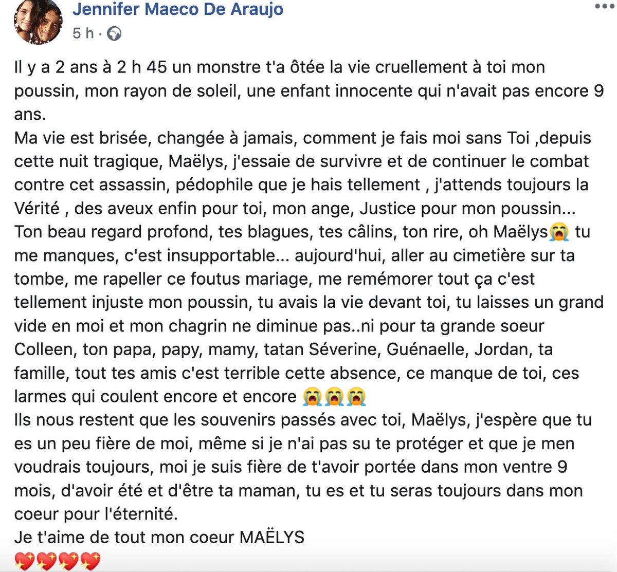 Serge Pueyo On Twitter Affaire Maëlys Le Message