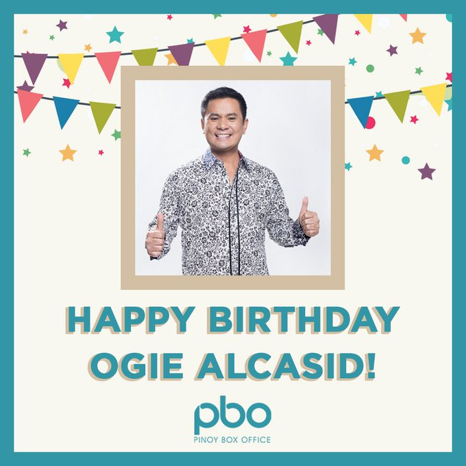 Happy Birthday Ogie Alcasid! Wishing you an amazing day and prosperous year ahead!