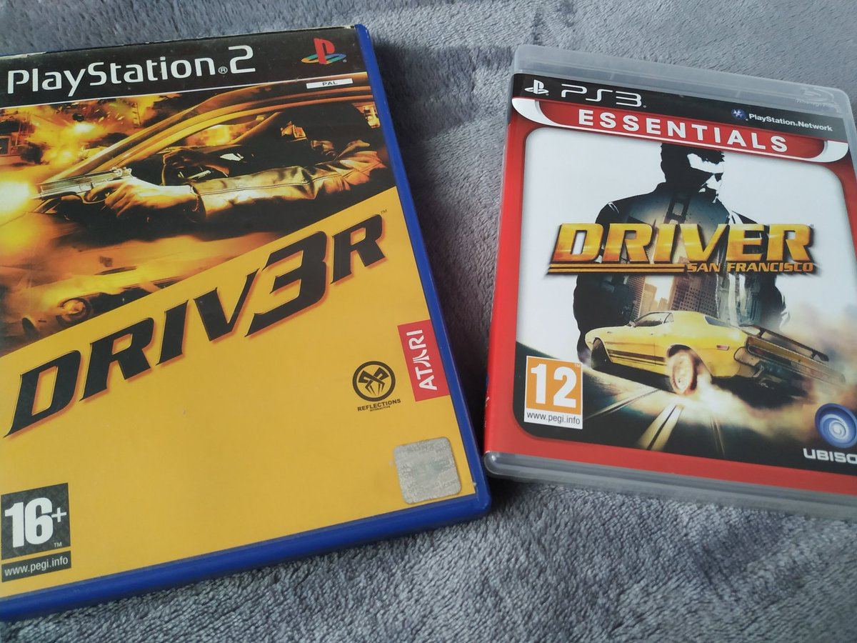 Which the best? @UbiReflections @Ubisoft  @DriverGame #Driv3r https://t.co/aOUfvPIJWz