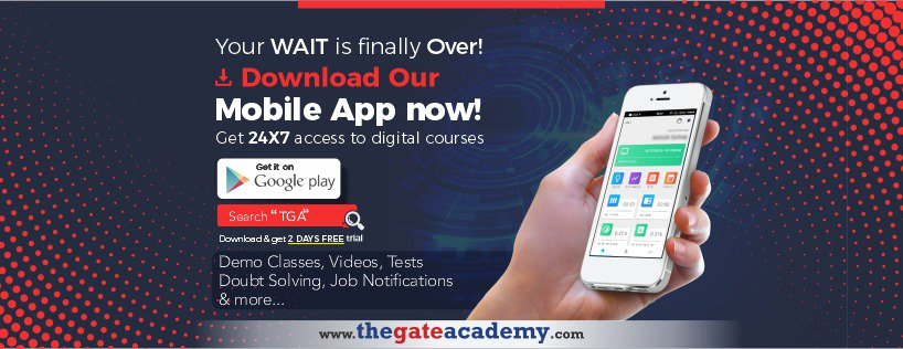 Keep your GATE Preparation Mode on with THE GATE ACADEMY's TGA Mobile App.  To Download >> http://bit.ly/2Gu3Nku  #gate2020 #gate2021 #gate2020batches #gate2020classes #gatepreparation #gateprep #gatecourses #thegateacademy #mobileapp #gateexamapp #gatecoachingpic.twitter.com/iT4rPTMb6E