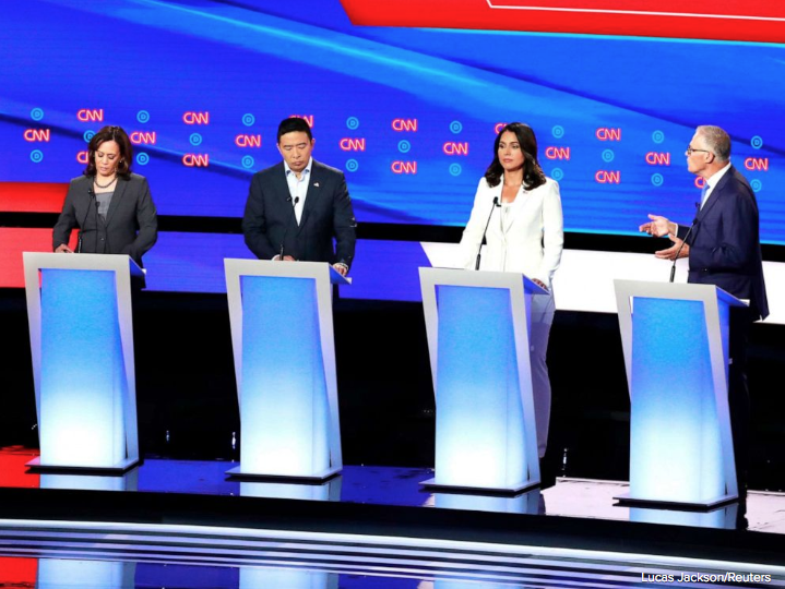 Democratic presidential candidates have three more days to qualify for the third debate hosted by ABC News.  Ten candidates so far have qualified, and two more are on the cusp: businessman Tom Steyer and Rep. Tulsi Gabbard: https://t.co/Ghjx5W6mwC https://t.co/7ifiL4sTJI