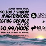 Image for the Tweet beginning: Summer hosting special  APOLLON/BITSEND Using our
