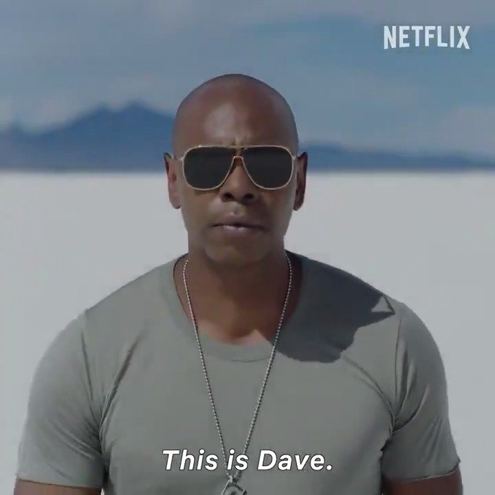 Dave Chappelle. August 26th. We'll let Morgan Freeman tell you the rest.