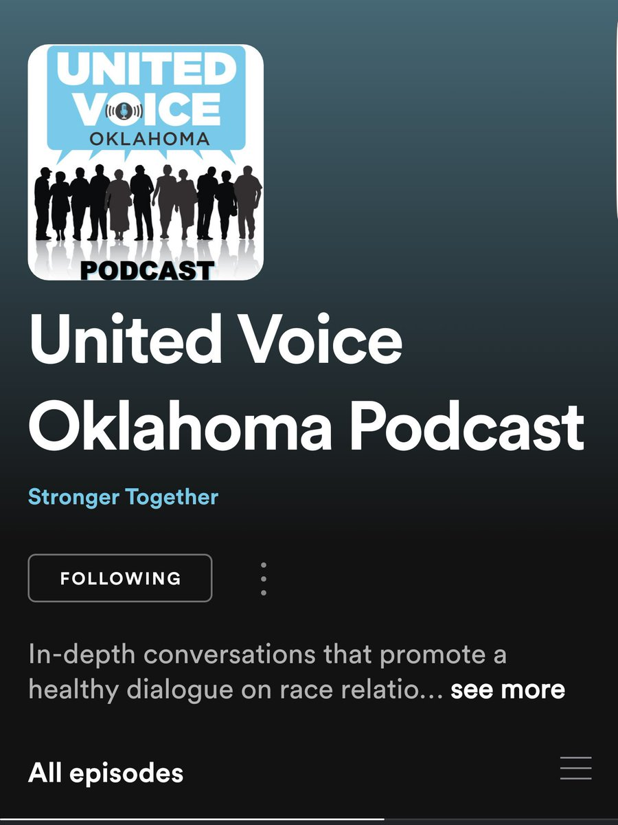 Listen to this great conversation on race relations. This will be helpful. I promise