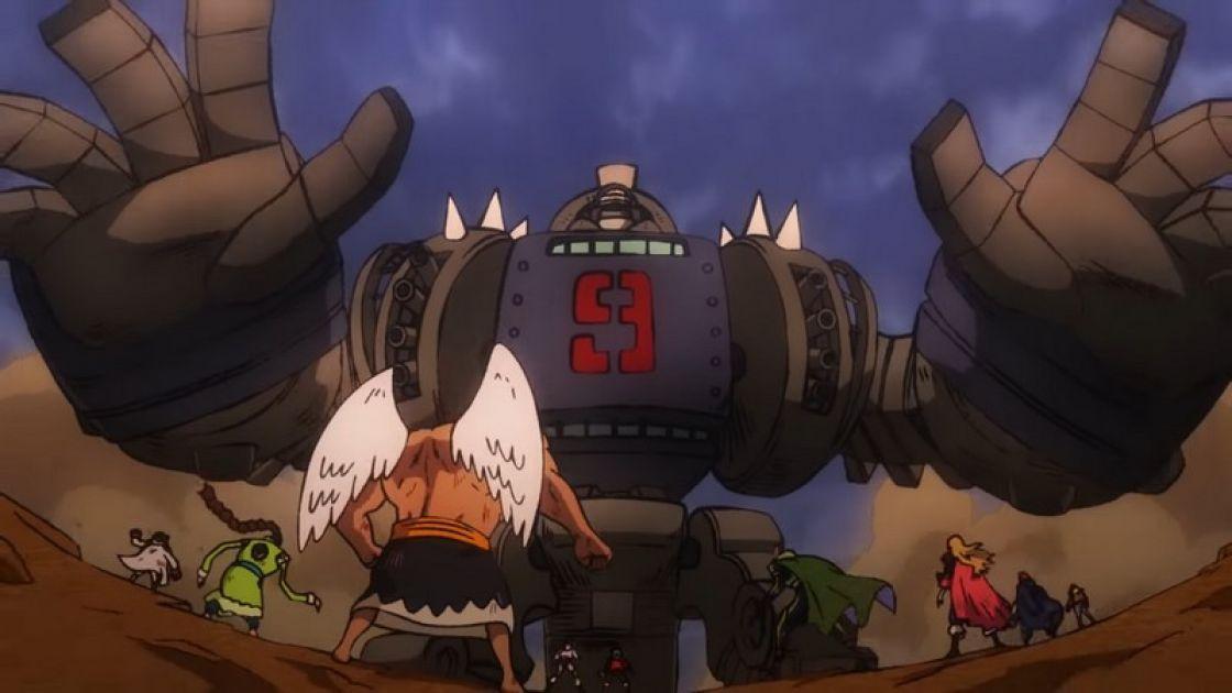 """Dunia Games op Twitter: """"Ada bocoran nih berupa bentuk dari Gasha Gasha no Mi, buah iblis yang dimakan Douglas Bullet di One Piece Stampede! Mirip Eustass Kid? https://t.co/nTmlsrF0fX… https://t.co/GJtscYG5Kk"""""""