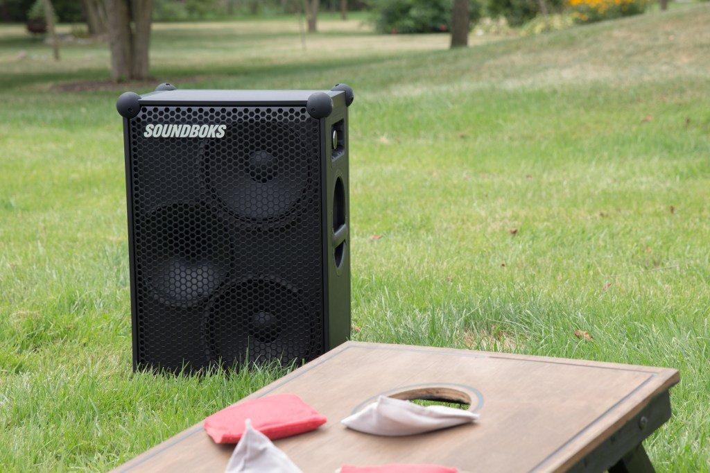 The New Soundboks is a massive, pro-level, battery-powered Bluetooth speaker by @mjburnsy