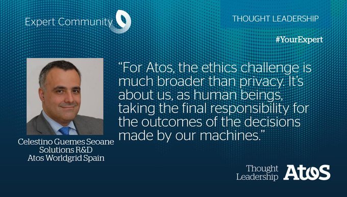 [#YourExpert] At Atos Expert Convention @tguemes will give our audience insights into...