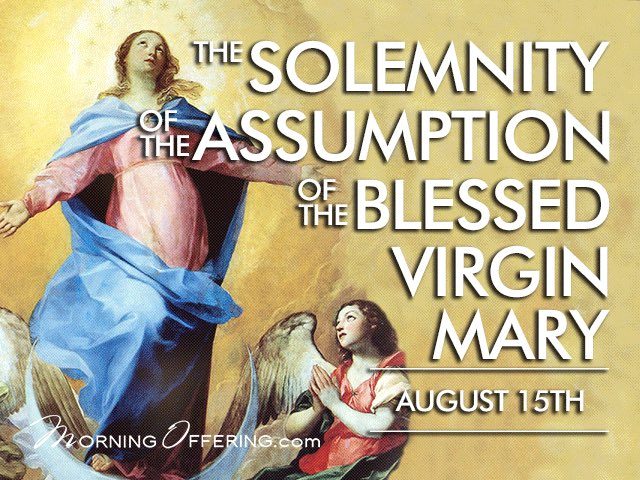 Wishing all our Holy Family community a blessed day. Today is the Assumption of Mary. #MotherMaryPrayForUs <br>http://pic.twitter.com/AF0sndFK1B