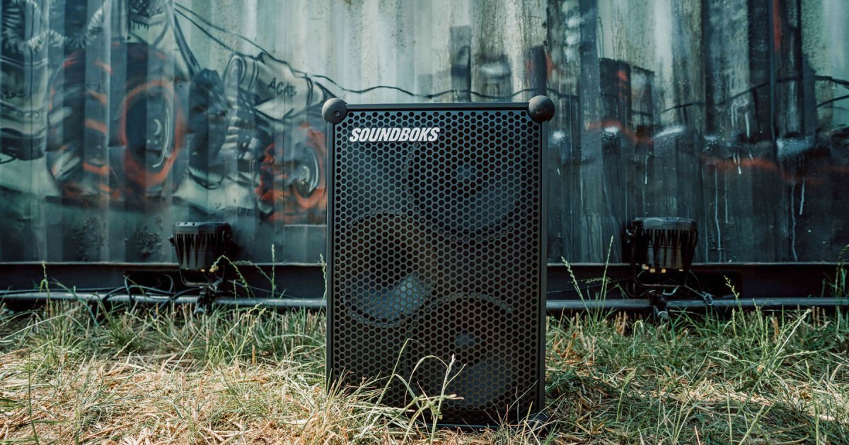 Soundboks' gigantic Bluetooth speaker is louder than ever