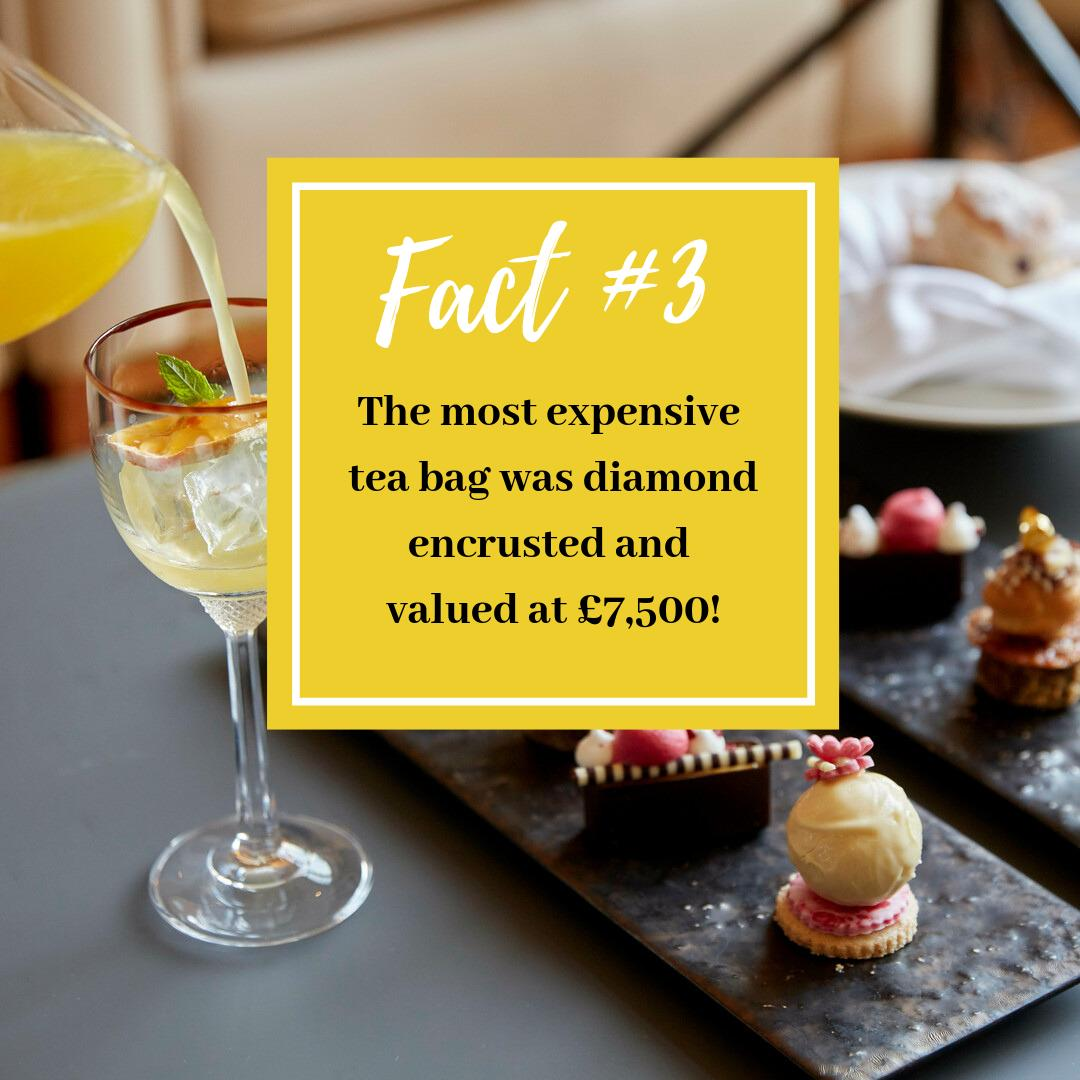 #AfternoonTeaWeek Fact #3 - Yikes! A tea bag of that calibre surely isn't up to dunking!This VIP teabag was created by #Boodles jewellers to celebrate PG Tips's 75th anniversary 👑Get 20% off our Afternoon Tea Experiences using TEA20 at the checkout - http://bit.ly/2YLmBI2