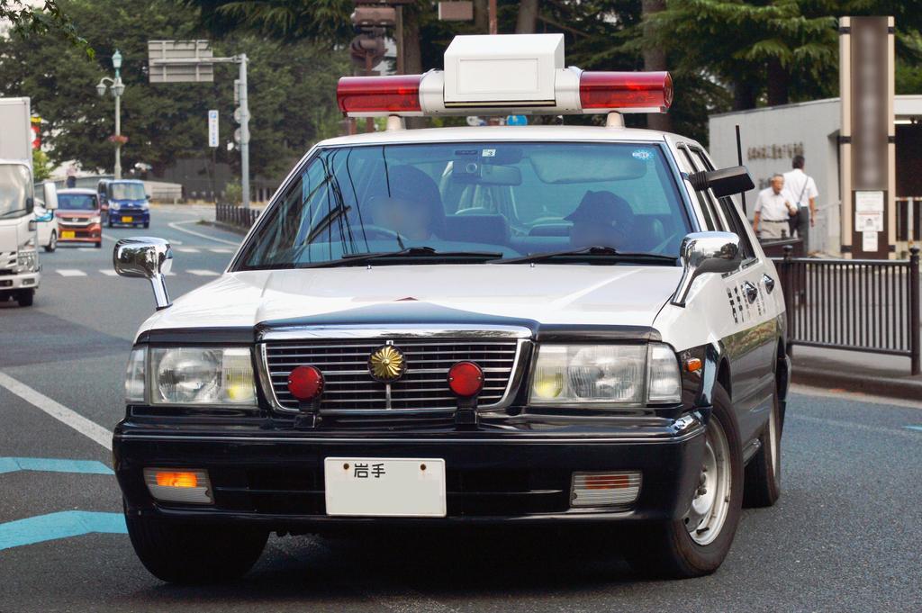 "TZ в Twitter: ""岩手県警察所轄署交通課 セドリックレーダーパトカー… """