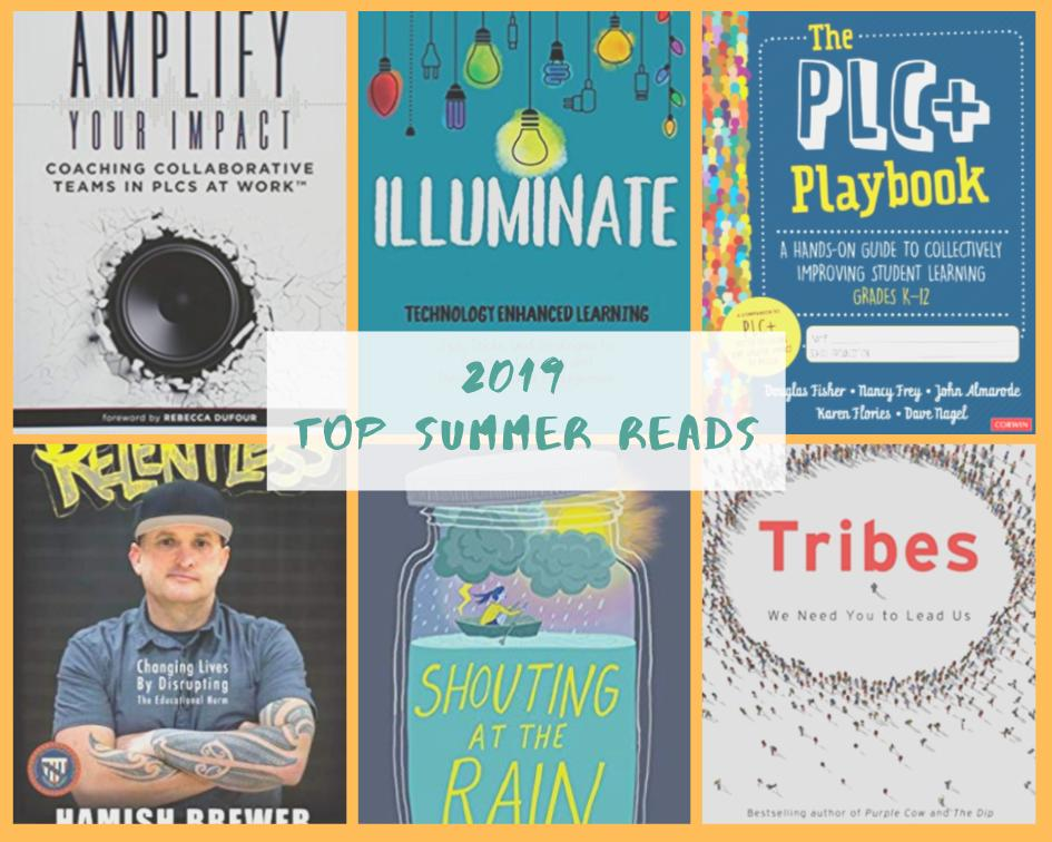 It was tough to narrow down, but here are the top 6 books I read this summer! #booklove #SummerReading #edchat