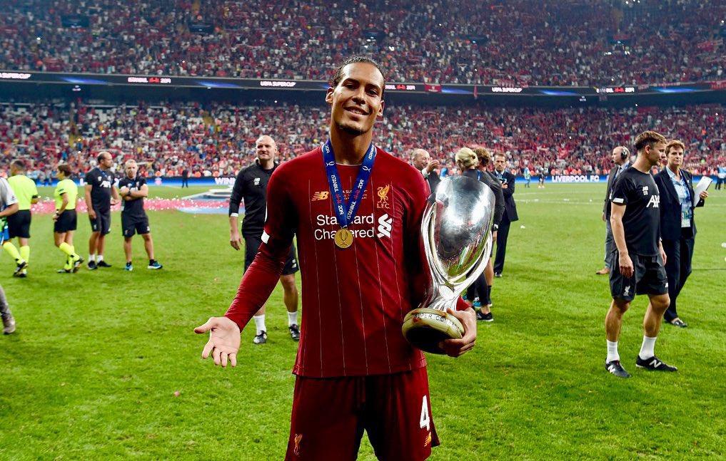 RT @VirgilvDijk: Champions of Europe! #SuperCup 🏆🤩 https://t.co/zZZAtgprHv