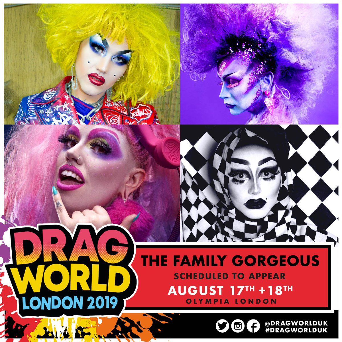 Image result for family gorgeous drag world