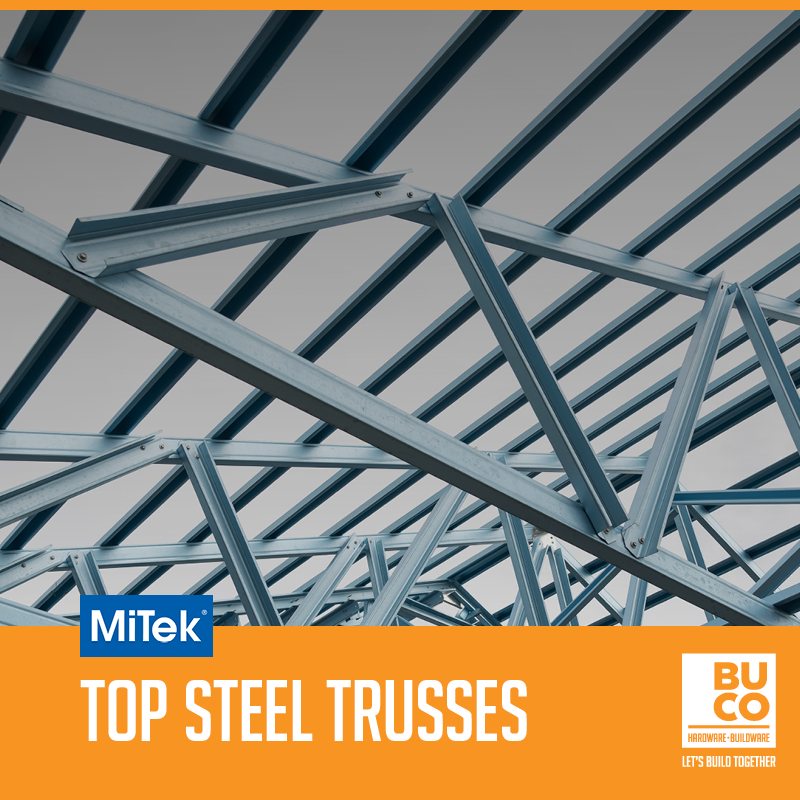 Buco On Twitter Did You Know Buco Is A Supplier Of Mitek Ultra Span South Africa S Most Used Pre Fabricated Cold Formed Steel Truss System Mitek Trusses Are Designed And Built To Last