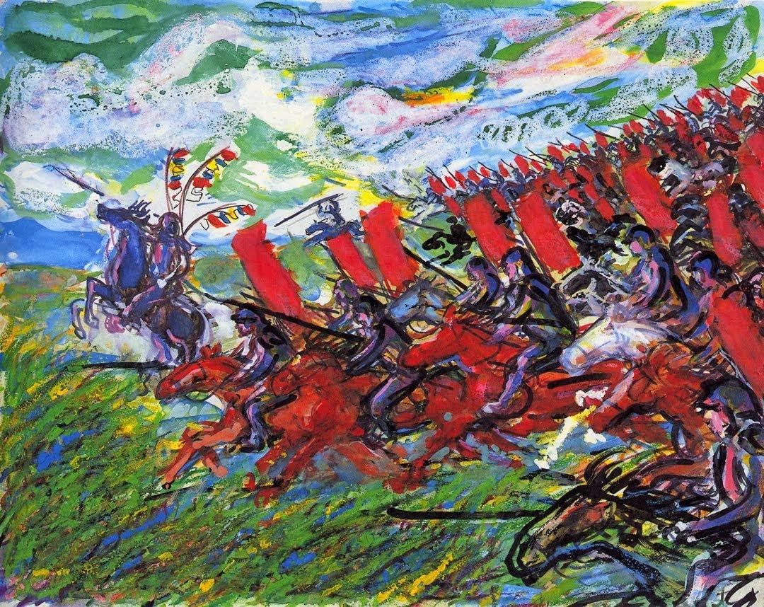 "Federico Italiano on Twitter: ""Akira Kurosawa's hand-painted storyboards  for 'Ran' (1985)… """