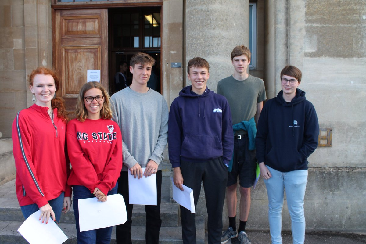 Congratulations to all our students following the publication of A level results today.  We wish them all every future success.
