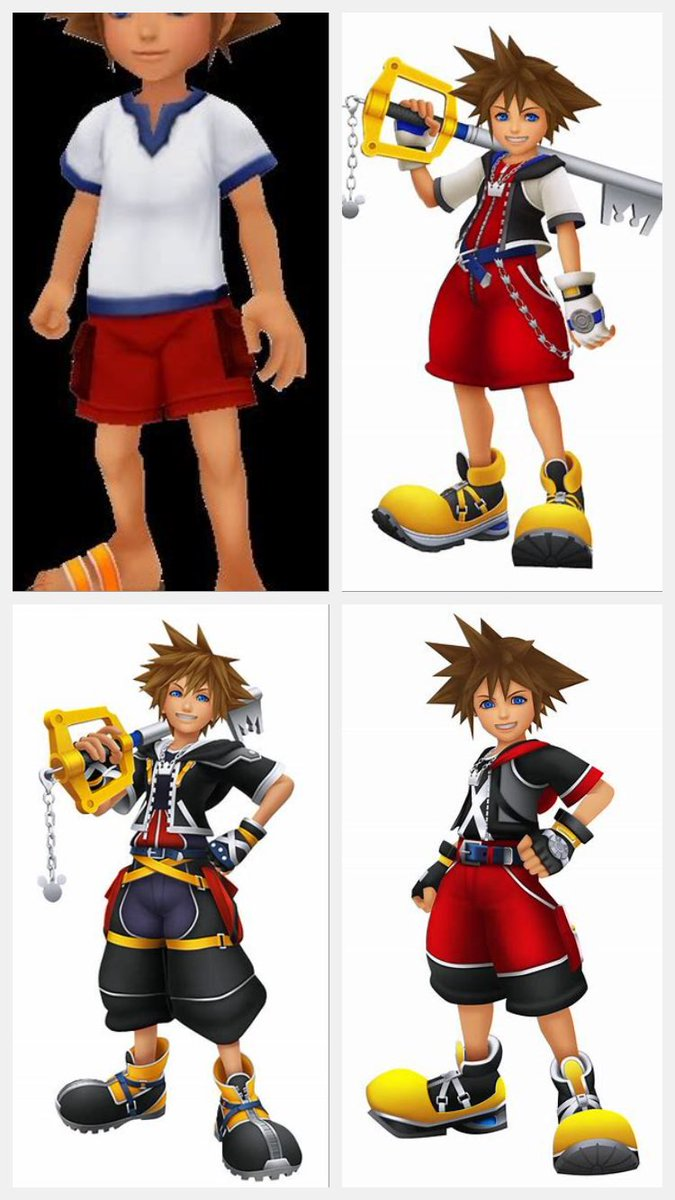 What's everyone's favourite main Sora clothes? Mine is his clothes from Kingdom Hearts 2. <br>http://pic.twitter.com/Z3JSKQ0SXZ