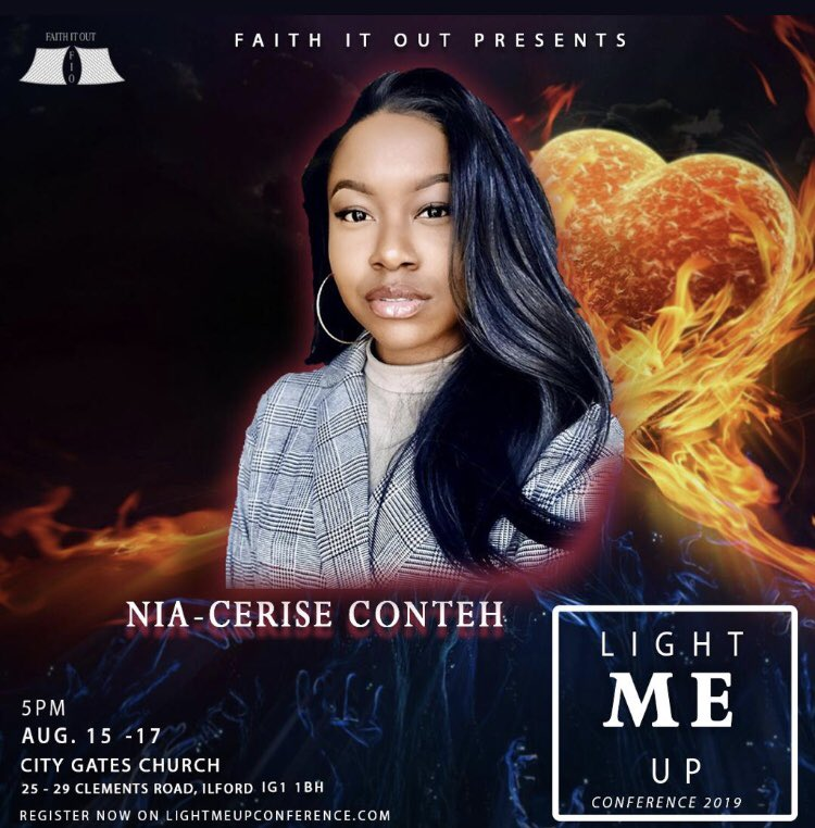 Light Me Up conference begins today! I'm very excited for this event.🔥🔥 I'll be preaching tonight! Let's go!