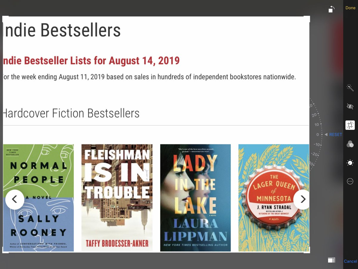 My plan is for @taffyakner and me to just keep logrolling our way through this list all summer. This week, #12 and #13, respectively.